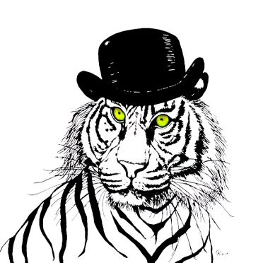ARTASTICAnna Collins Top_Hat_Tiger_IMG_8368_web