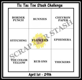 April Tic tac Toe Challenge