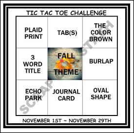 SOS 11 2017 TIC TAC TOE CHALLENGE NOVEMBER